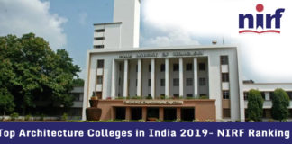Top Architecture Colleges in India 2019- NIRF Ranking
