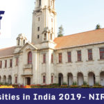 Top Universities in India 2019- NIRF Ranking