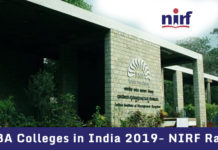 Top MBA Colleges in India 2019- NIRF Ranking